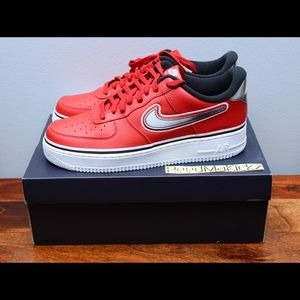 nike air force 1 '07 LV8 Sport NBA Bulls mens